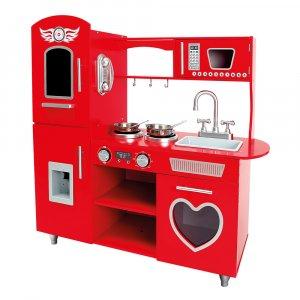 Bino Ruby kuchyňka červená
