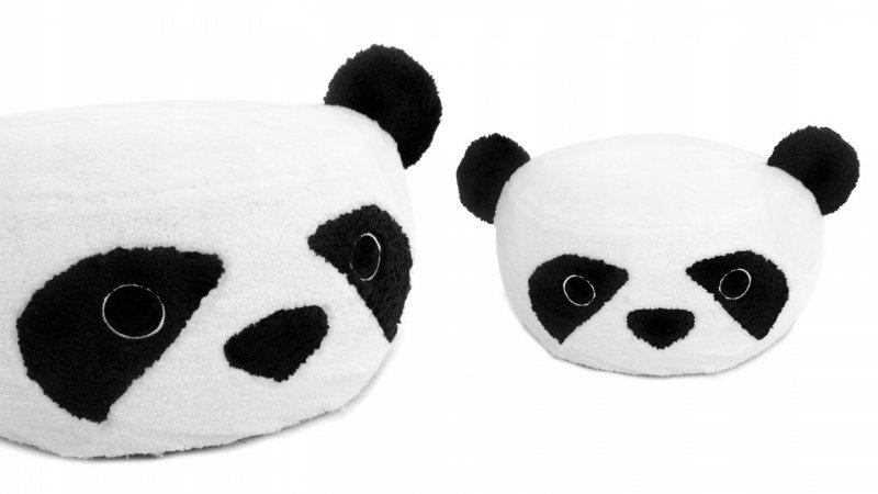 Tutumi Plyšový bobek, křesílko Animal, 60x30cm - Panda