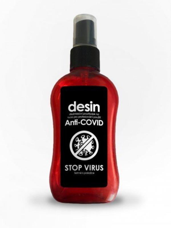 10x Účinná dezinfekce ve spreji STOP VIRUS - 100ml
