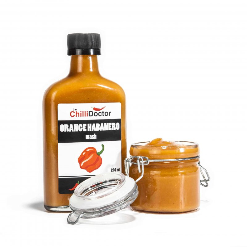 Orange Habanero mash 200 ml