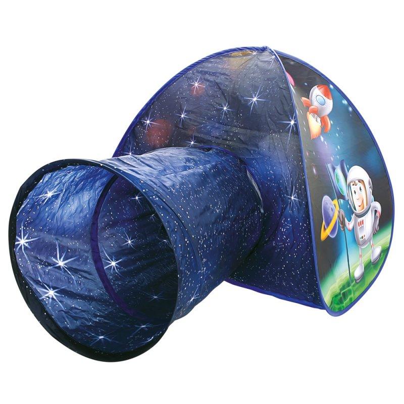 Stan s tunelem, kosmonaut