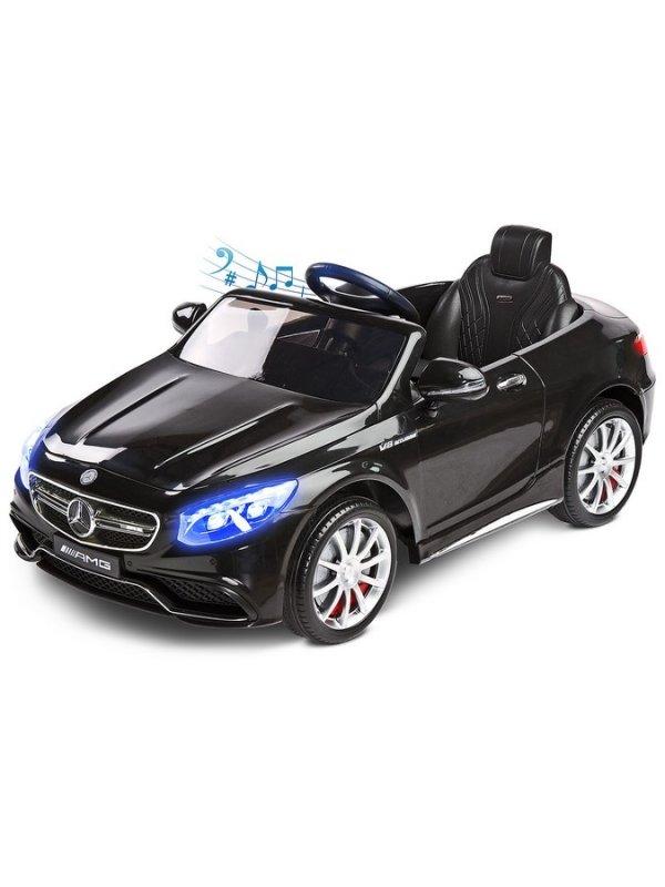 Elektrické autíčko Toyz Mercedes-Benz S63 AMG-2 motory - black - černá