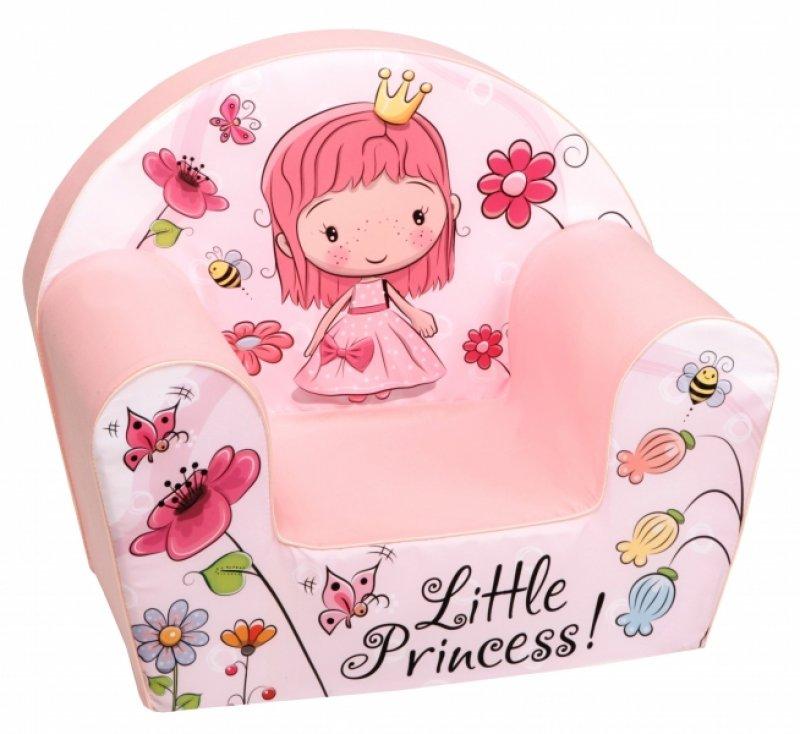 Delsit Dětské křesílko, pohovka - Little Princess s kytičkami