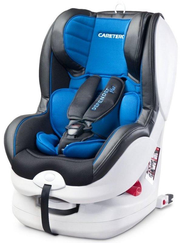 Autosedačka CARETERO Defender Plus Isofix - blue 2016 - modrá