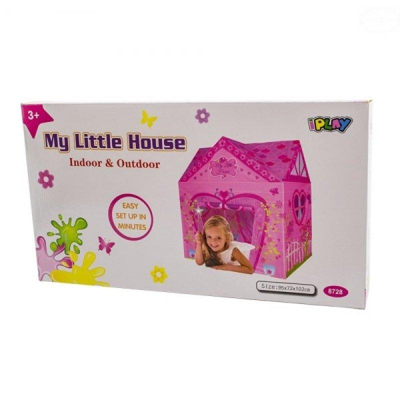 Euro Baby Dětský stan - domeček pro holčičky