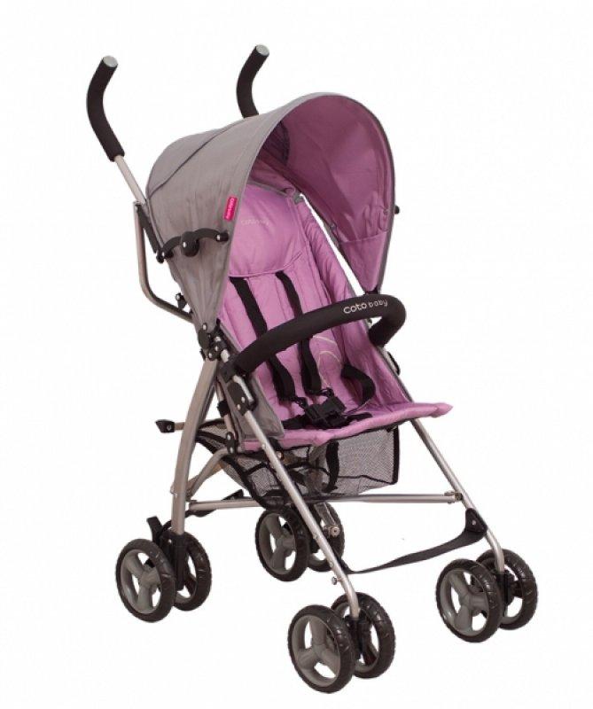 Golfový kočárek Rhythm Coto Baby 2020, fialová/šedá