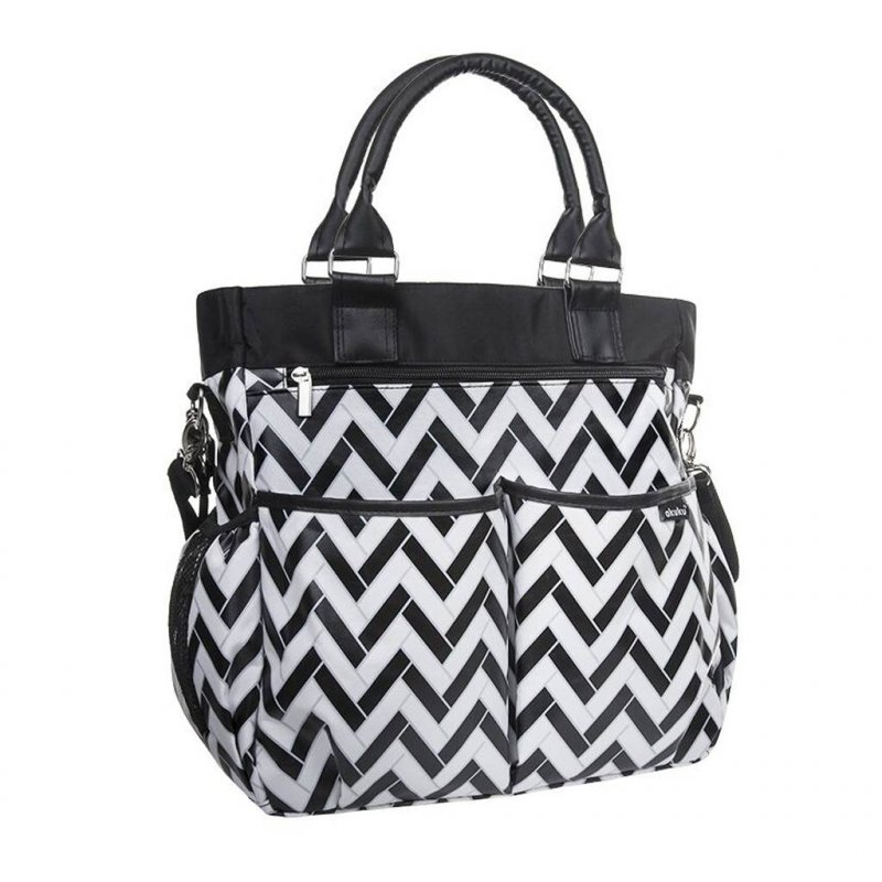 Taška ke kočárku STYLE BAG Akuku s přebalovací podložkou - multicolor