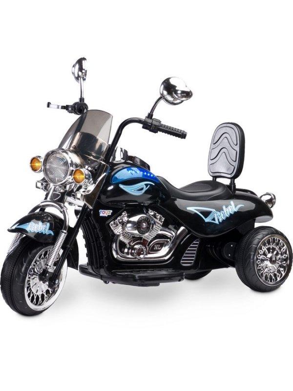 Elektrická motorka Toyz Rebel - black - černá