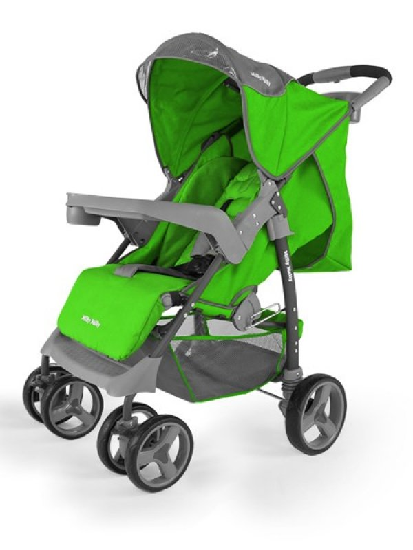 Golfový Kočárek Milly Mally VIP - green - zelená