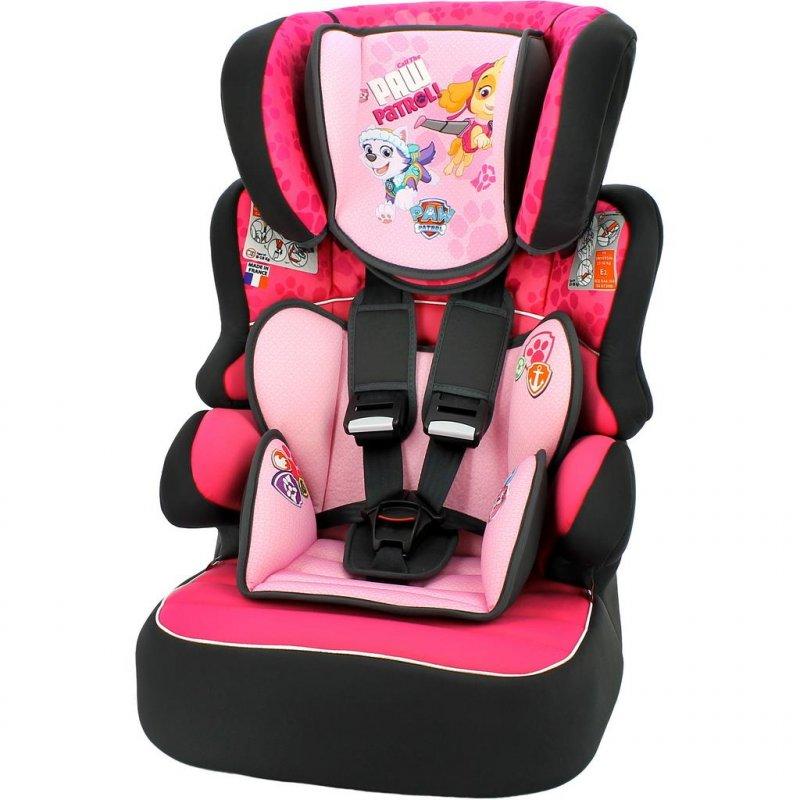 Autosedačka Nania Beline Sp Luxe Paw Patrol 2017 pink - růžová