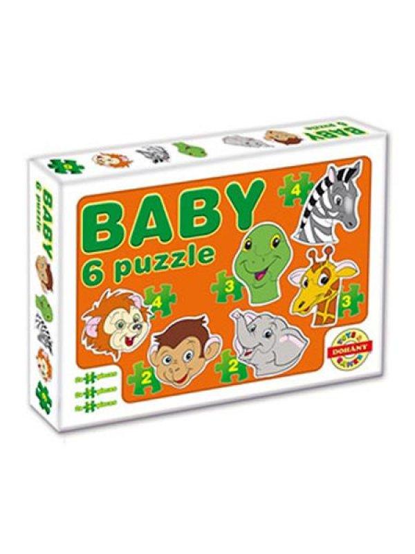 Dětské Baby puzzle - oranžová