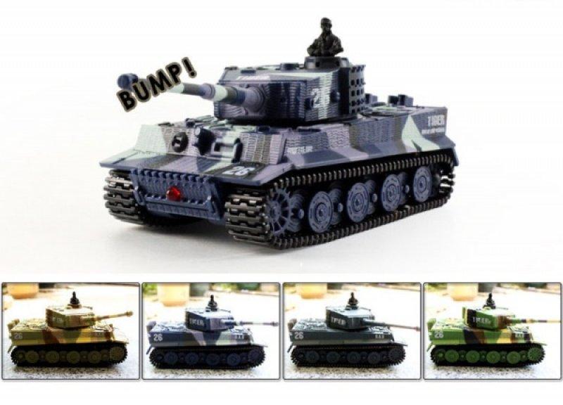 Mini RC tank Tiger 1/72