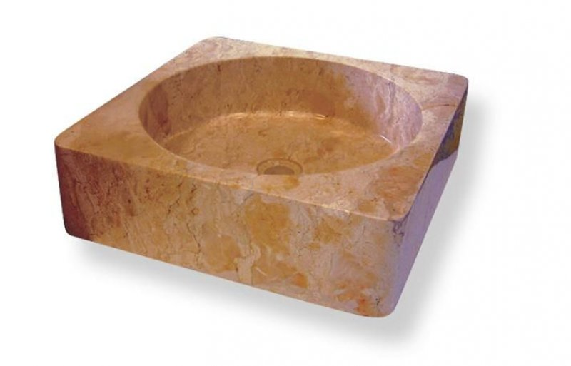 Kamenné umyvadlo Handwash Yellow