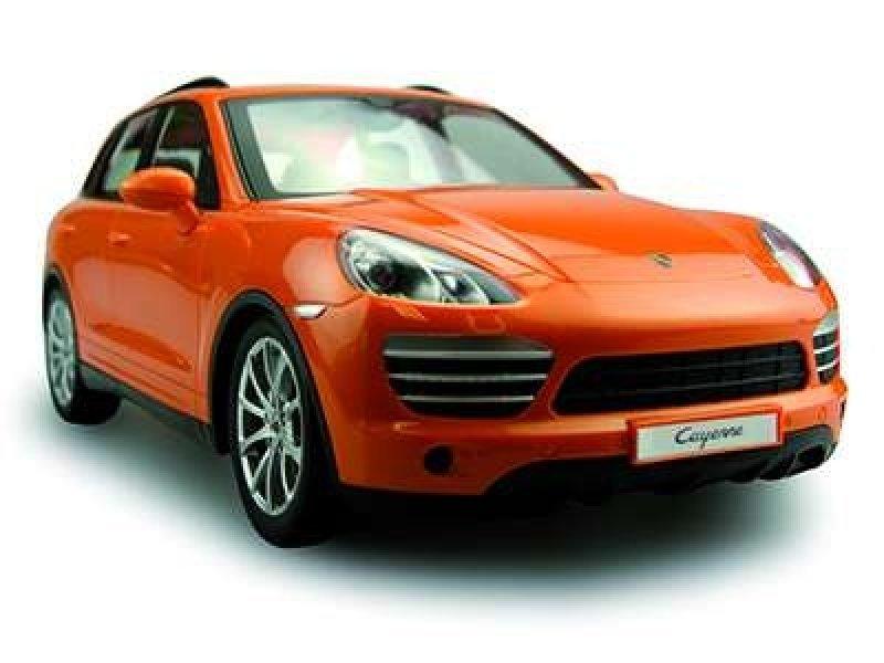 Porsche Cayenne Turbo, oranžová 1/14 RC auto