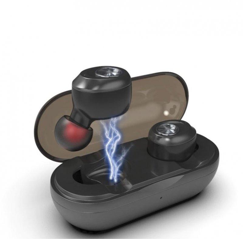 Bluetooth sluchátka MoreBlue - Černá