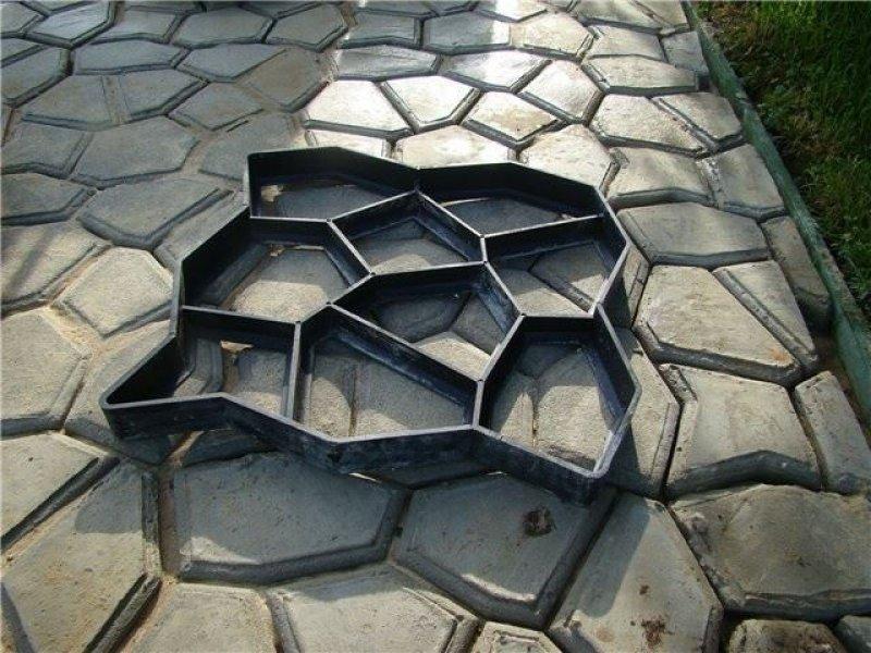 Forma na betonové chodníky (40x40 cm)