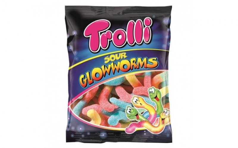 Sour Glowworms 100 g