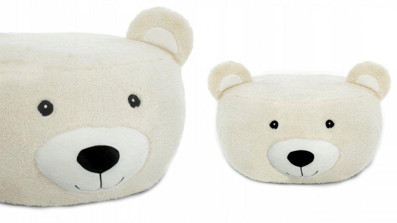 Tutumi Plyšový bobek, křesílko Animal, 60x30cm - Medvěd