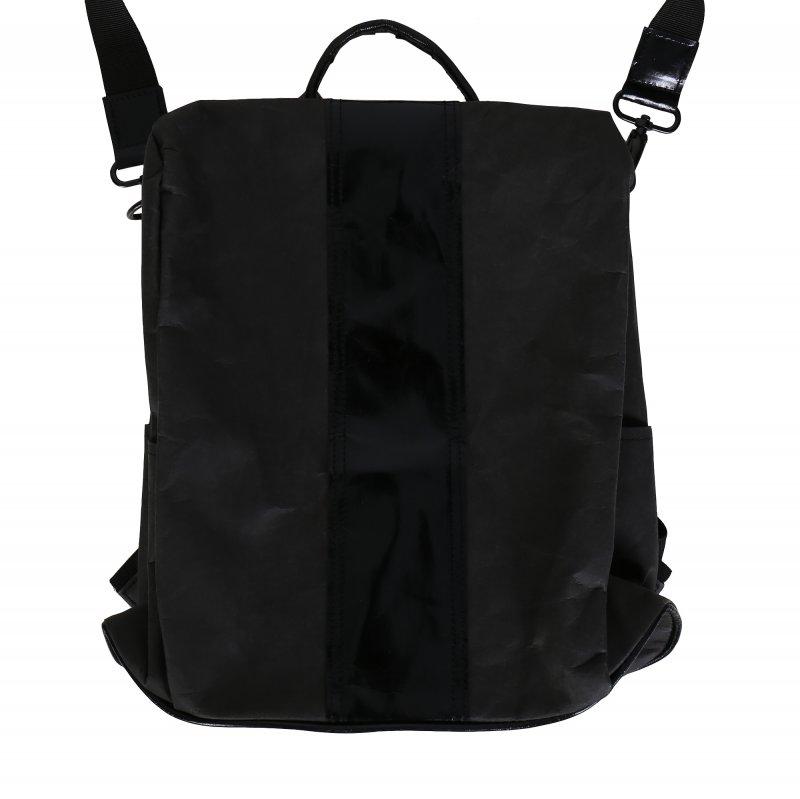 Ekologická kabelka z pratelného papíru černá
