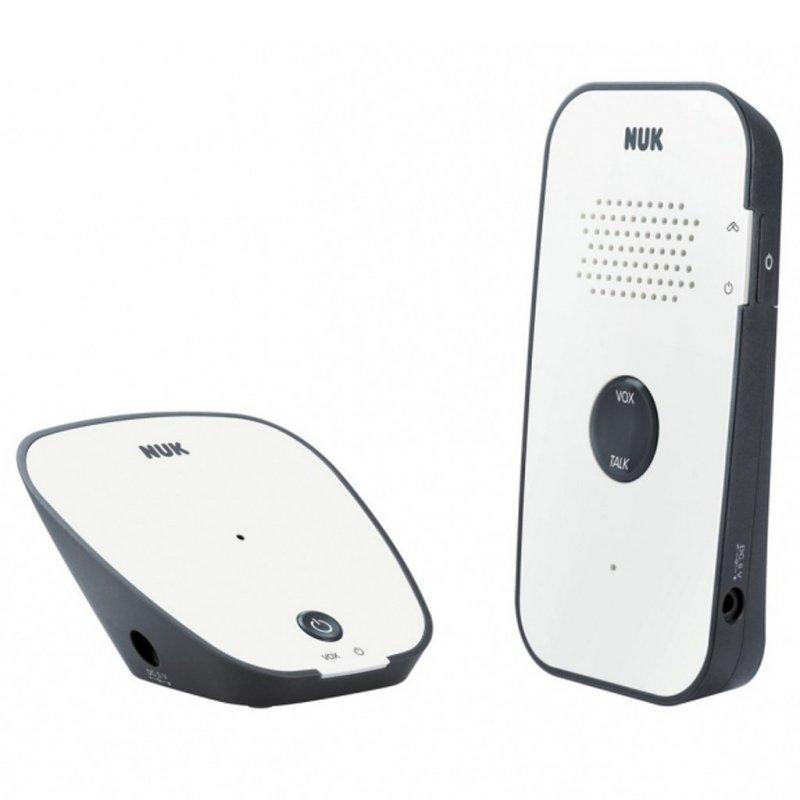 Digitální chůvička NUK Eco Control Audio 500 - bílá