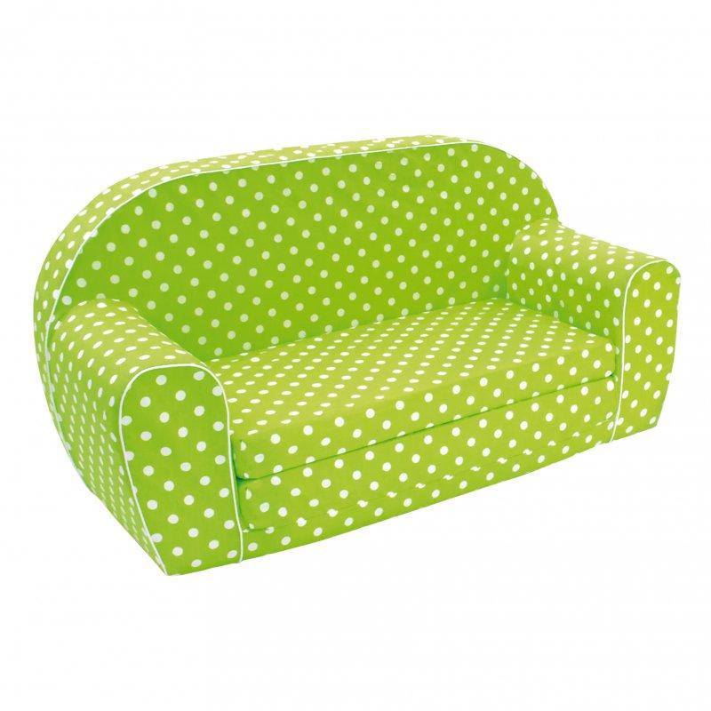 Mini pohovka, zelená