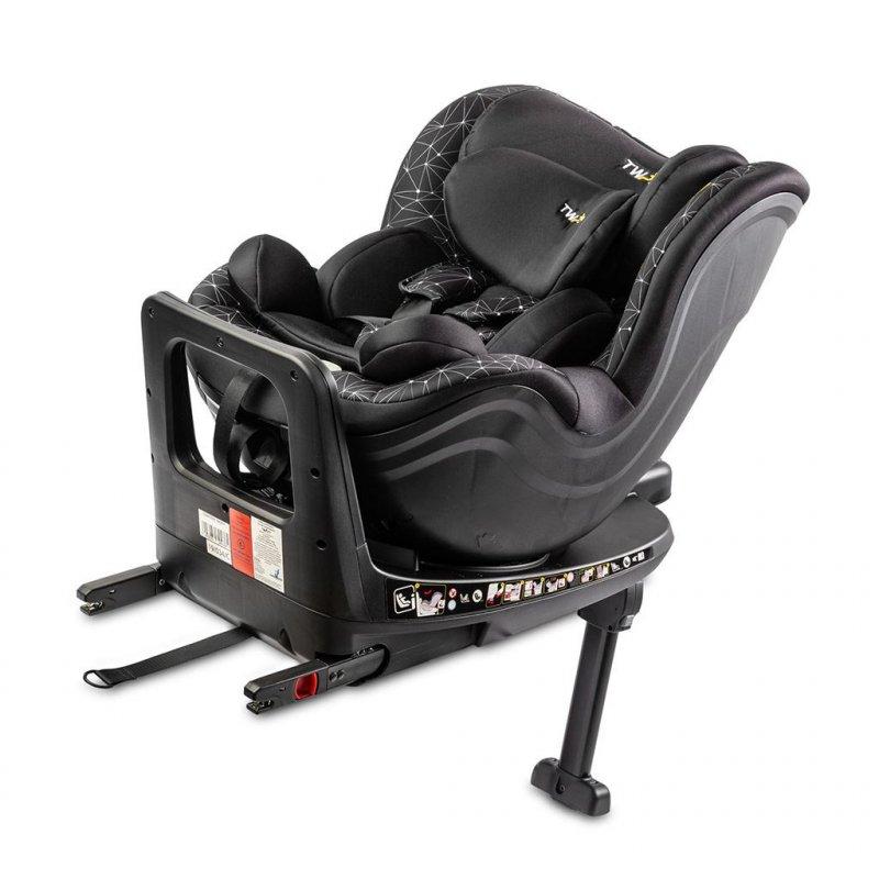 Autosedačka CARETERO Twisty Isofix i-Size - black 2020 - černá