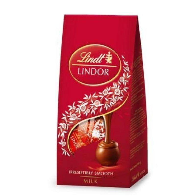 Lindor Milk mléčná čokoláda s jemnou krémovou náplní 100 g