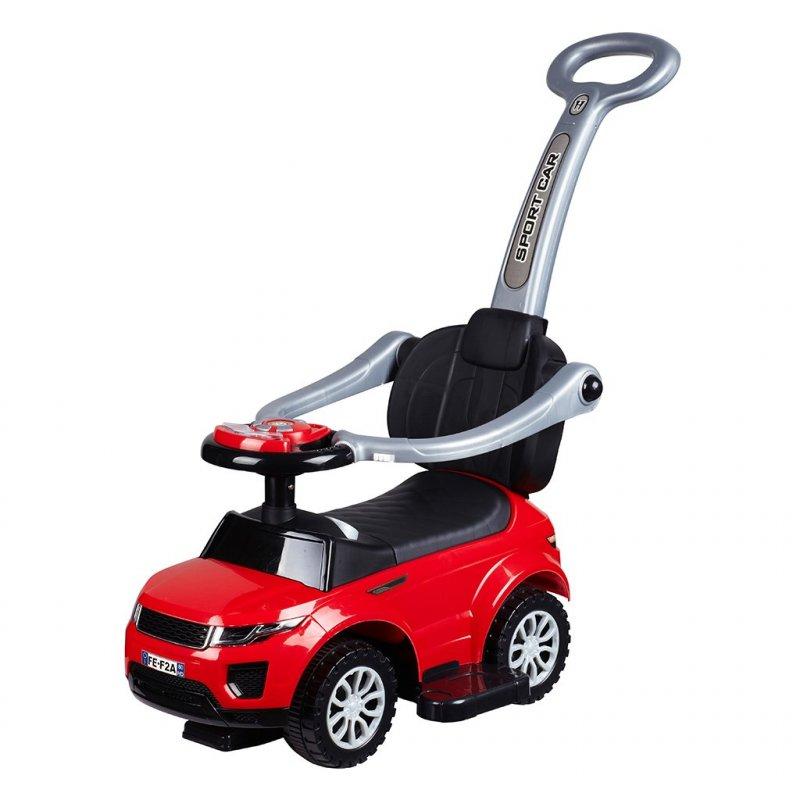 Dětské hrající jezdítko 3v1 Bayo Sport Car - red - červená