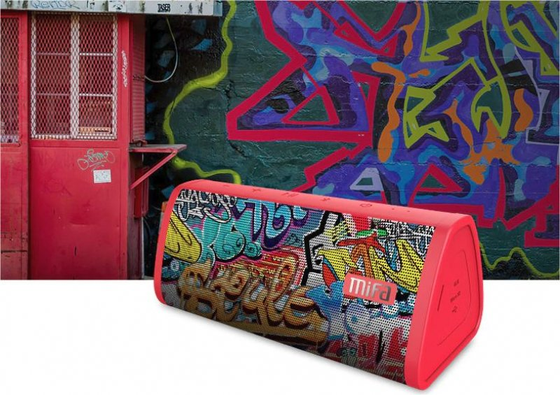 Přenosný reproduktor Mifa - Grafitti