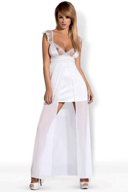 Dámská noční košilka OBSESSIVE Feelia gown - L/XL