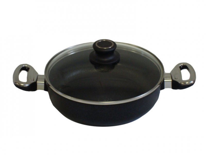 Titanový kastrol 24 cm s poklicí 3 l BAF Gigant