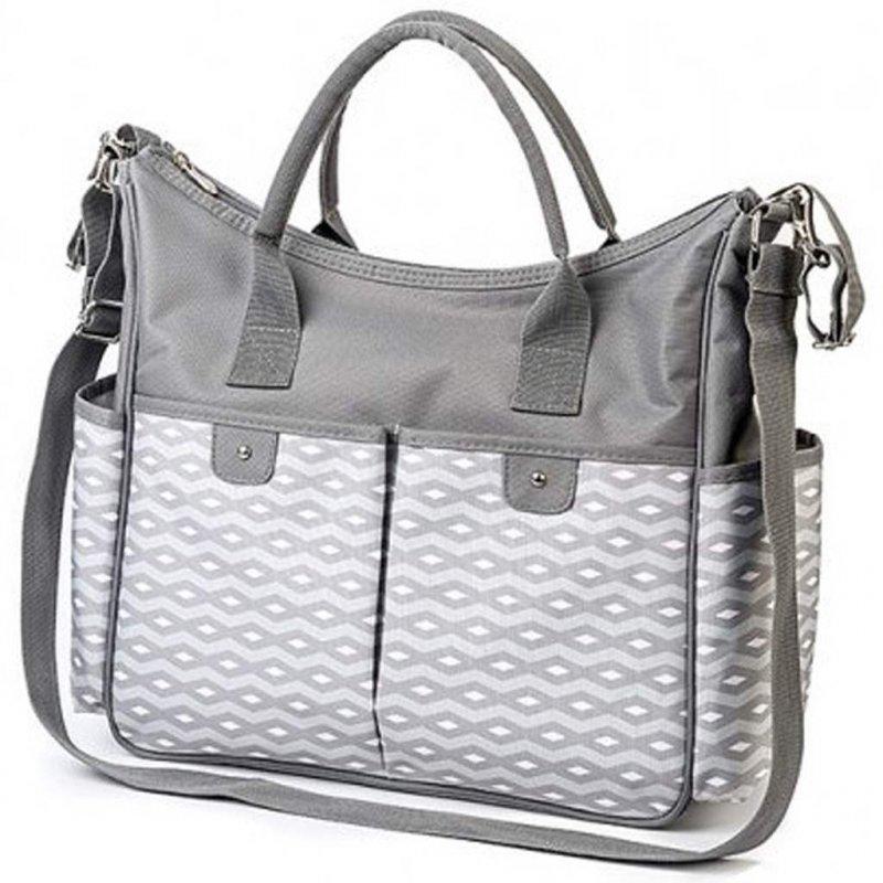 Stylová taška na kočárek BASIC SO CITY Baby Ono světle - šedá