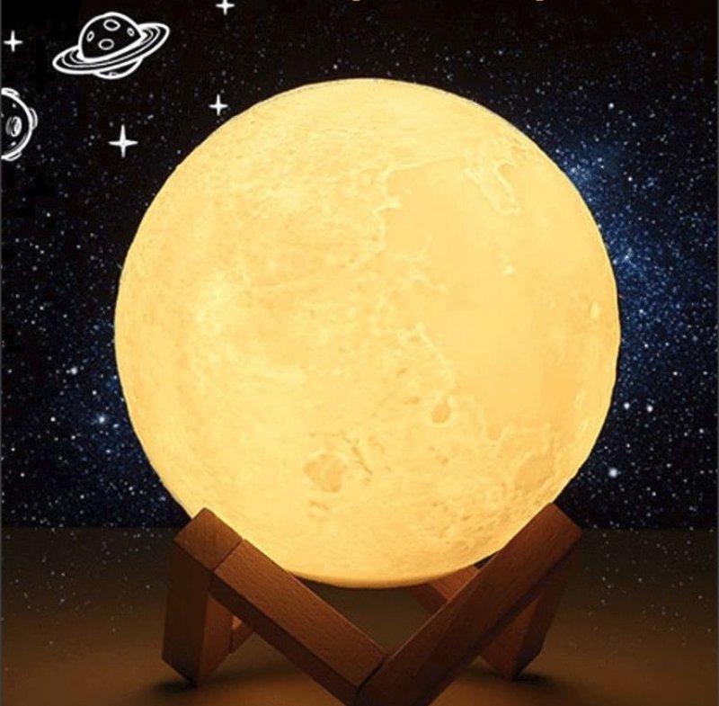 Lampa ve tvaru měsíce - Průměr 8cm