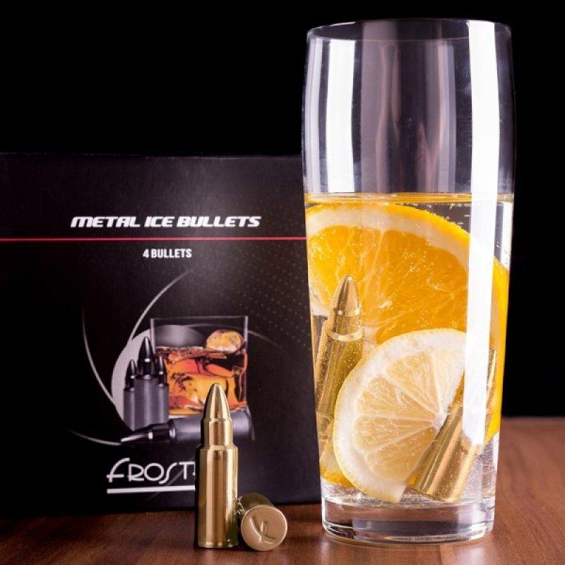 Kovové náboje do nápojů - Zlatý