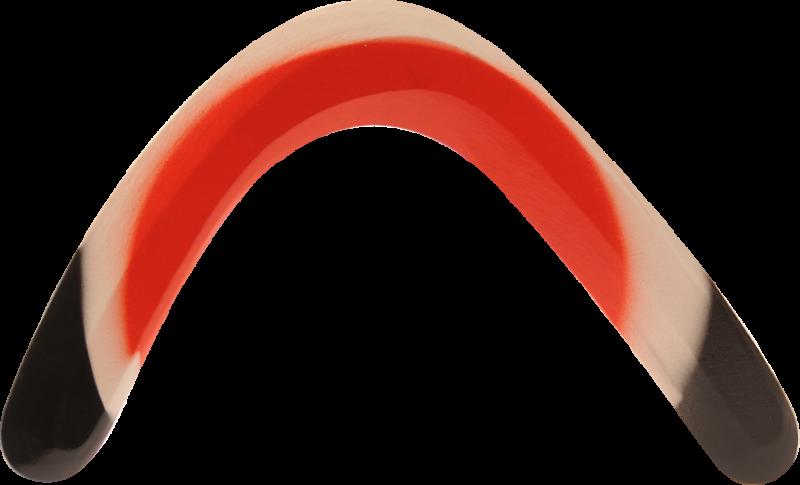Bumerang Hook - Hnědoranžový