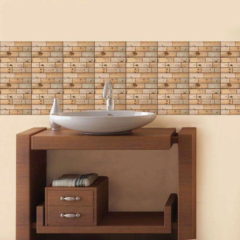 3D tapeta - dřevo
