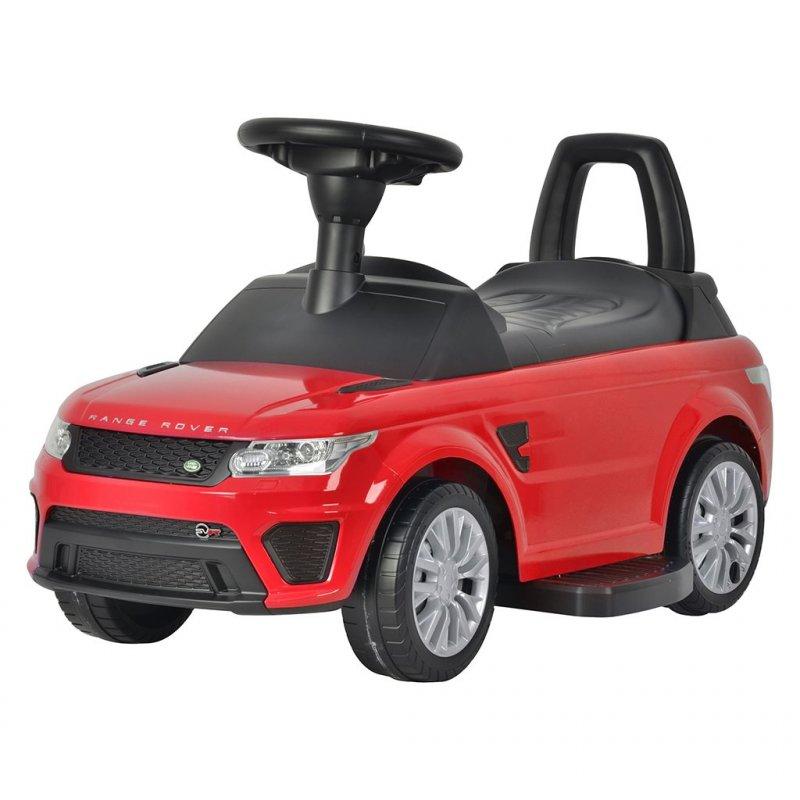 Elektrické autíčko-odrážedlo 2v1 Bayo Range Rover Sport SVR - red - červená