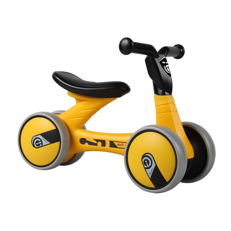 Dětské odrážedlo Baby Mix Twist - yellow - žlutá