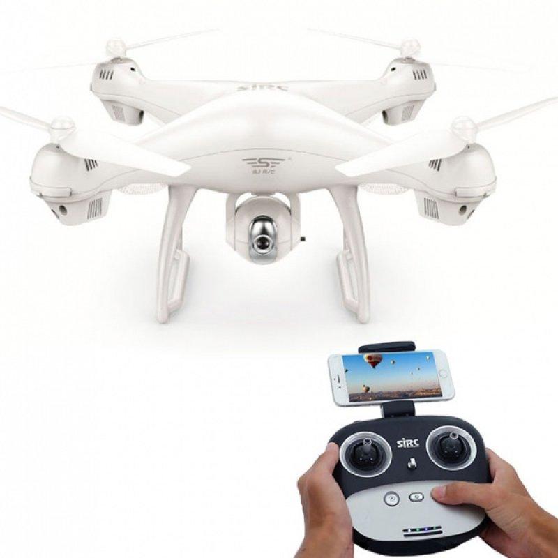 SJ70W - dron s GPS - bílá