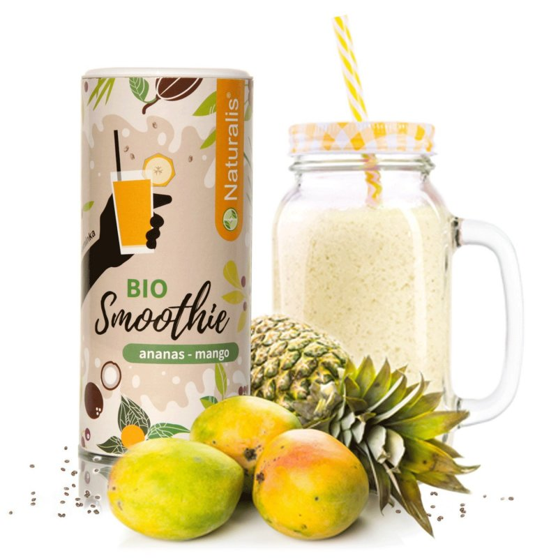 Smoothie Naturalis Ananas a Mango BIO - 180g