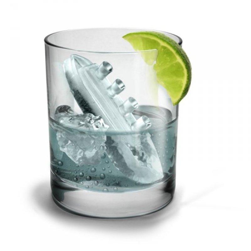 Titanic - forma na led