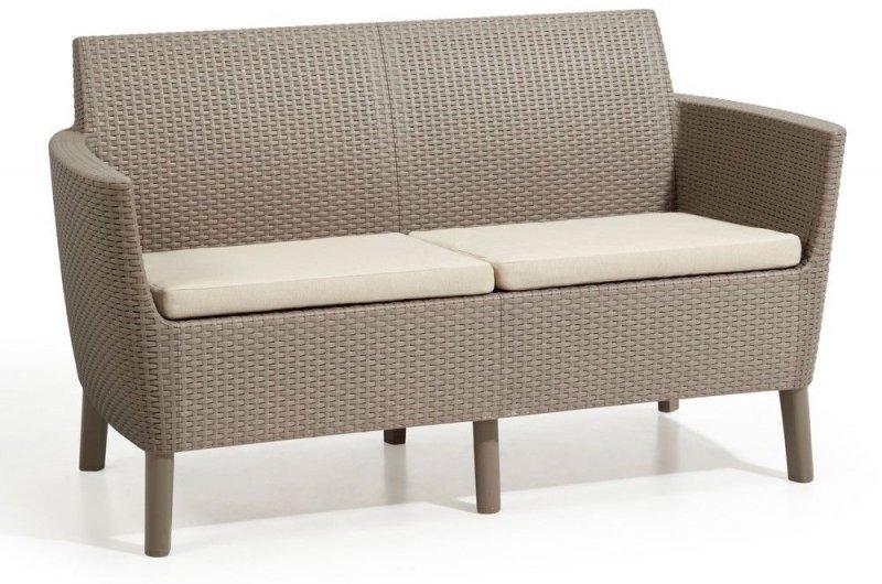 SALEMO dvoumístná sofa - cappuccino