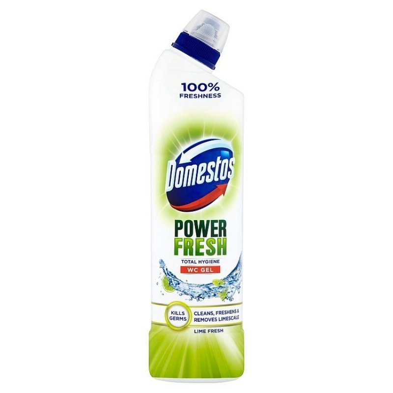 Total Hygiene Lime Fresh WC desinfekční gel 700 ml