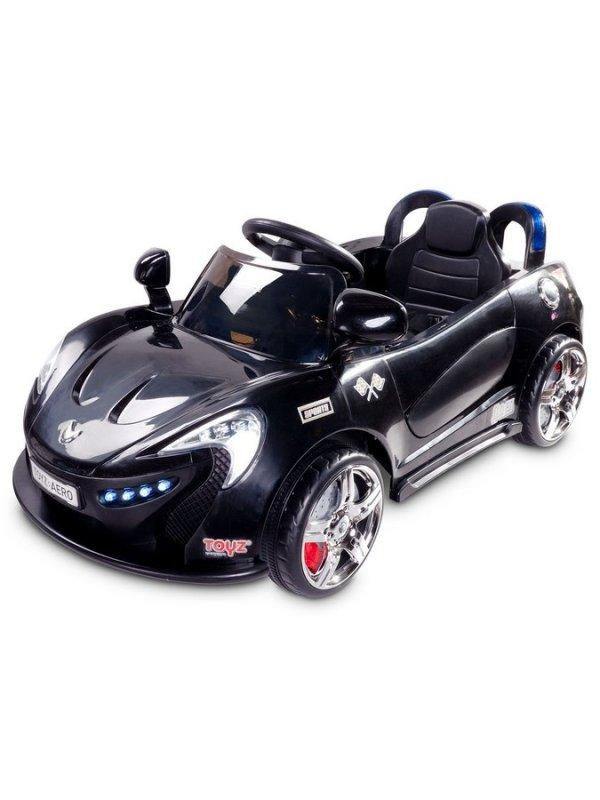 Elektrické autíčko Toyz Aero - 2 motory a 2 rychlosti - černé - černá