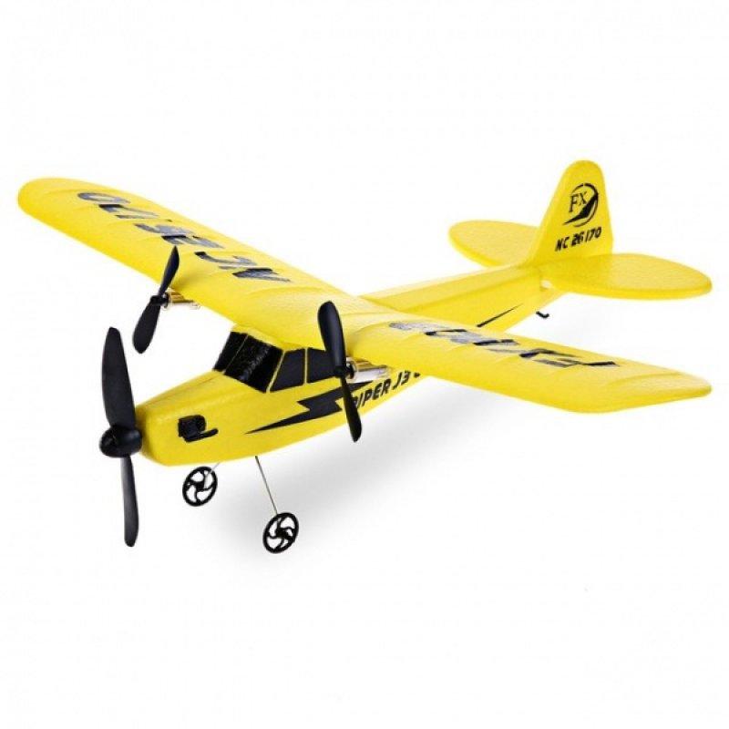 PIPER J-3 CUB RC letadlo 2 kanály 2,4 Ghz