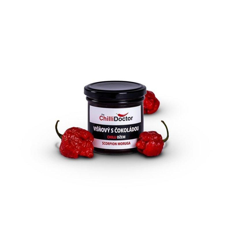 Višňový džem s Trinidad Scorpion Morugou 190 g