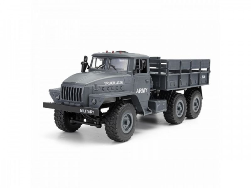 Sovětský vojenský truck URAL 4320 6x6 1:12 RTR proporcionální jízda LED