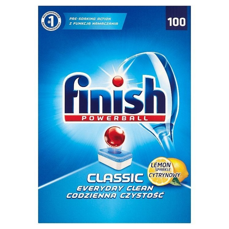 FINISH Classic Lemon 100 ks