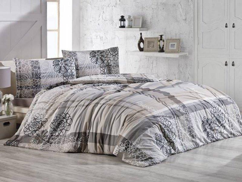 Povlečení francouzské bavlna 220x220,70x90 Lady natur, Výběr zapínání: - zipový uzávěr
