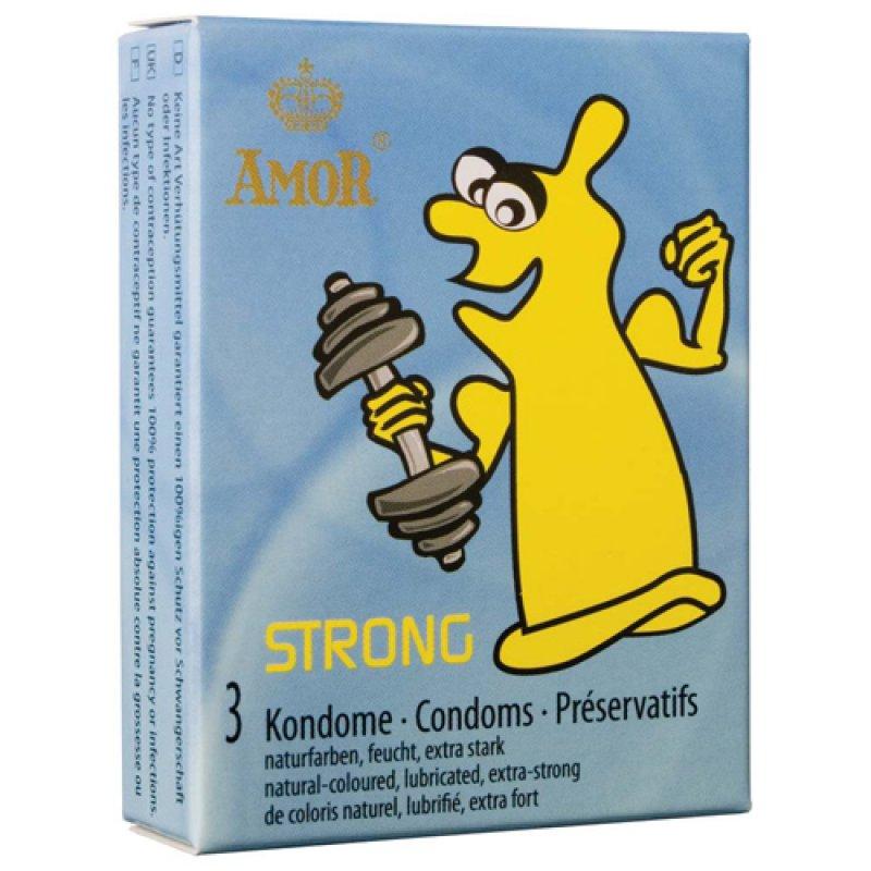 Luxusní kondomy Amor - strong